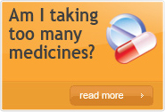 Am I taking too many medicines?